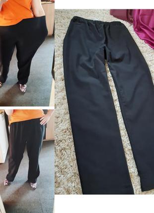 Мега комфортные елластичные брюки на резинкн,studio  denmark,  p. 46-50