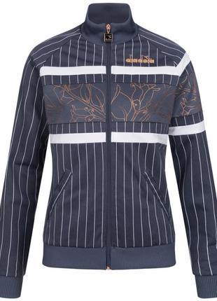 Оригинал diadora 80s bold женская куртка с подкладкой, олимпийка размер s