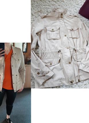 Актуальная легкая куртка/ветровка беж,lcw casual,  p. 36