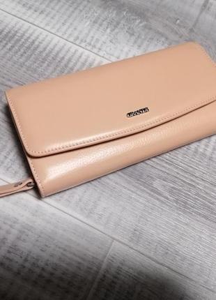 Новый кожаный кошелёк