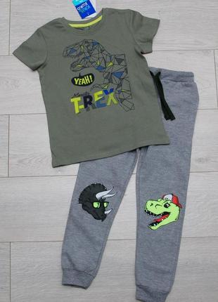 Спортивный костюм комплект футболка и штаны джоггеры  pepco116