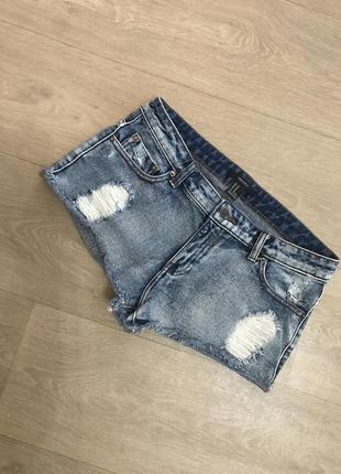 Классные джинсовые шорты forever 21 , р.27