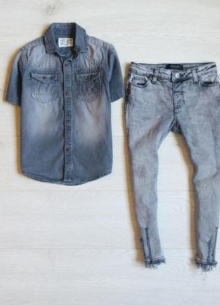 Джинсы и тениска