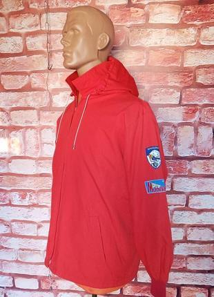 Куртка ветровка винтажная 70-е материал япония