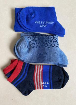 Носочки на мальчика стильные модные оригинал falke размер 27