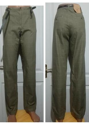 Sale.  хлопковые брюки в  клетку