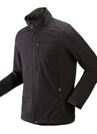 Стильная  мужская куртка softshell от tchibo(германия) на микрофлисе