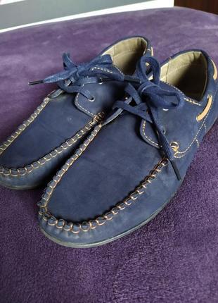 Туфли мокасины на мальчика