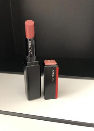 Shiseido помада для губ с невесомым покрытием visionairy gel