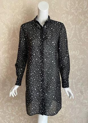Diane von furstenberg оригинал дизайнерское платье шелк хлопок звезды