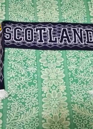 Шарф футбольный scotland