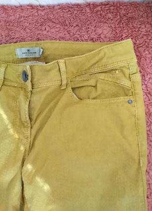 Штаны горчичного цвета tom-tailor
