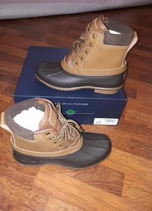 Ботинки сапоги tommy hilfiger 39-40-25