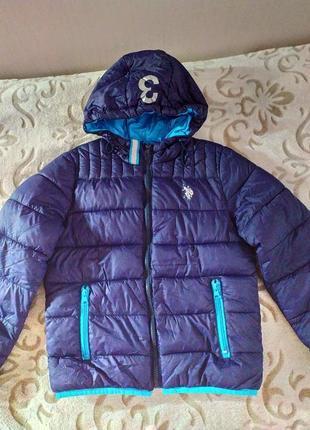 Курточка демисезонная для мальчика 10-11лет.