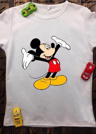 Детская футболка - микки маус
