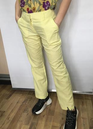 Льляные брюки от promod