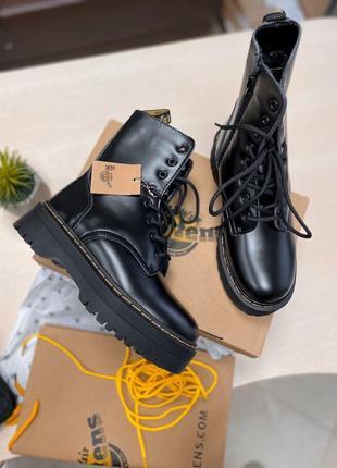 Распродажа sale женские ботинки dr. martens high fur