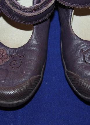 Туфли clarks, размер 25.5м. кожа.