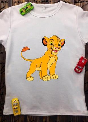 Детская футболка - симба