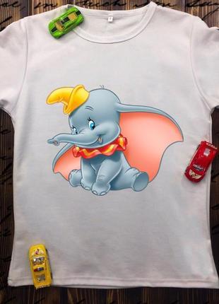Детская футболка - дамбо