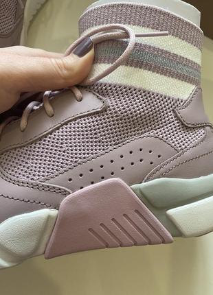 Высокие кроссовки гольфы хайтопы из натуральной кожи mark nason sketchers оригинал из сша4 фото
