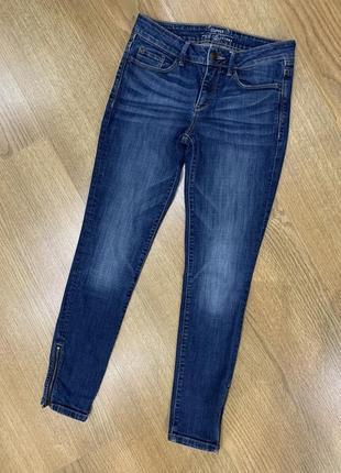 Скини джинсы с замочками