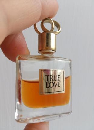 Винтажная миниатюра true love elisabeth arden, parfum/экстракт/чистые духи, 4 мл