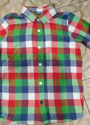 Рубашка байковая m&s