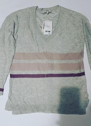 Серая кофта пуловер next