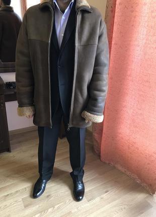 Мужская натуральная дубленка { christina lonely}