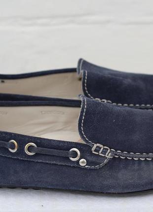 Шикарные кожаные мокасины, туфли marc soft walk 42 разм