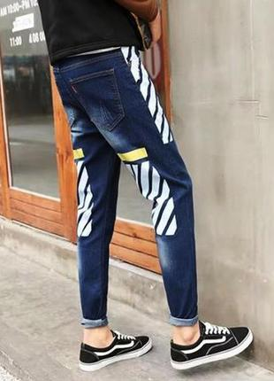 Мужские джинсы, штаны off white, офф вайт