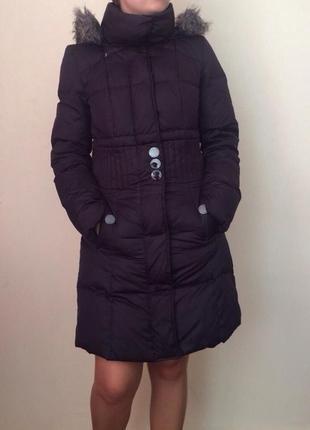 Очень теплое пуховое пальто