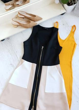 Платье на молнии ax paris