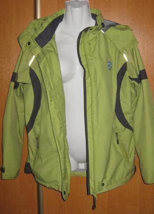 Плотная ветронепроницаемая куртка  nature trail  на мембране европа спорт оригинал
