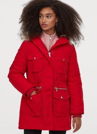Куртка парка h&m премиум качество осень зима 2020 новая коллекция хит продаж