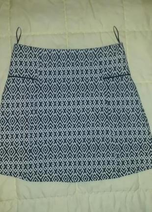 Модная юбка - трапеция размер 44, s, м