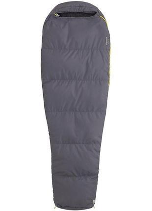 Спальний мішок marmot nanowave 55 left zip grey