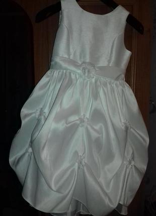 Выпускное нарядное платье cinderella на 6-8 лет.
