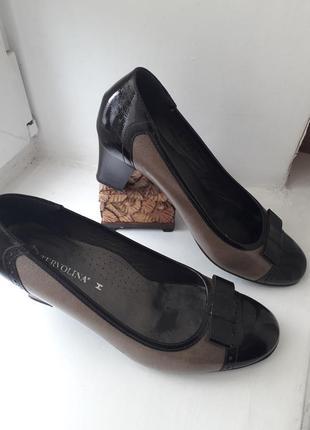 Красивые стильные туфли tervolina