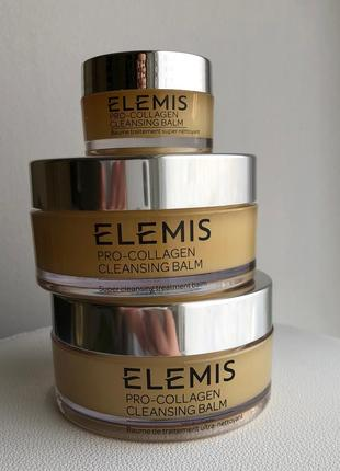 Elemis pro-collagen cleansing balm, 105гр.