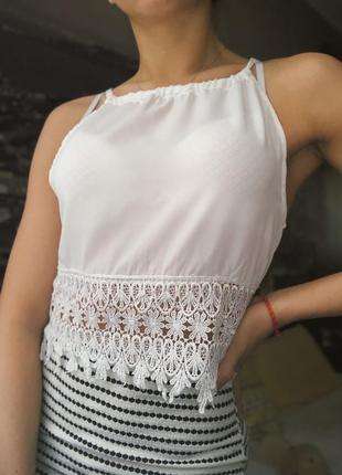 Новая блуза на завязках