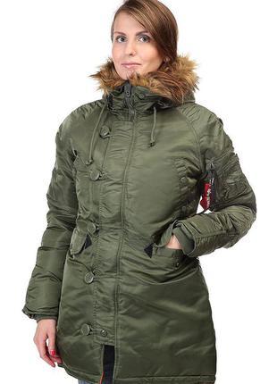 Деми куртка-парка, аляска atmosphere