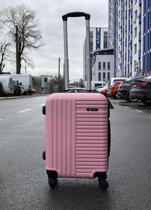 Супер цена! малый чемодан для ручной клади / валіза мала пластикова ручна поклажа