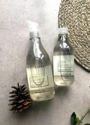 Очищающий шампунь для нормальных и жирных волос l'oreal professionnel