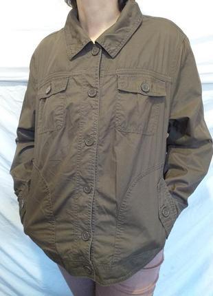 Куртка без подстежки. ветровка.