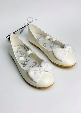 Балетки h&m для девочки, туфельки для девочек h&m