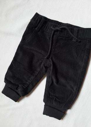 Теплые детские брюки р 62\68 impidimpi