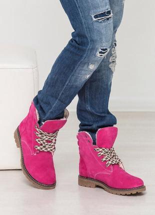 Стильные женские зимние ботинки.акционная цена1 фото