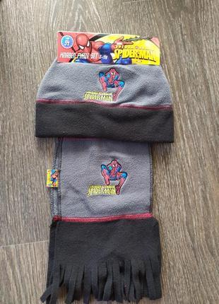 Продам флісовий набір(шапка+ шарф)